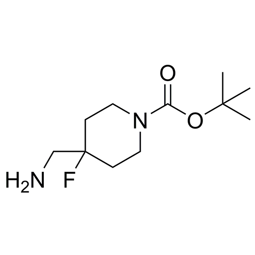 tert-butyl 4-(aminomethyl)-4-fluoropiperidine-1-carboxylate